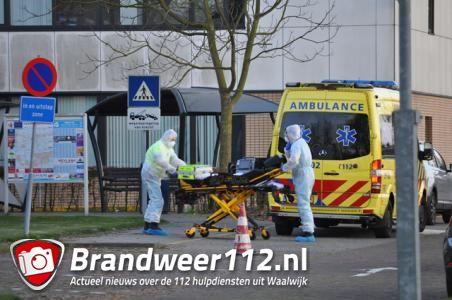 Mogelijk corona patiënt bij ETZ ziekenhuis Waalwijk