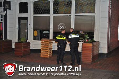 Overval gepleegd op Café Spits in Grotestraat Waalwijk