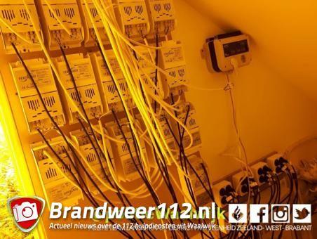 Hennepkwekerij in woning aan de Ockeghempark Waalwijk