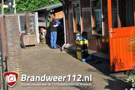 UPDATE: Arrestatieteam doet inval in woning aan de Meerdijk Waalwijk