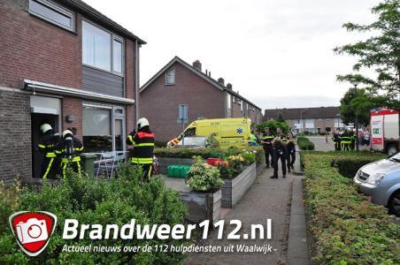 Man wordt onwel in woning aan de Aubertstraat Waalwijk