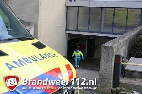 Dode gevonden in auto in parkeergarage aan de Wilhelminastraat Waalwijk