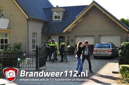 Woningoverval aan de Kloosterweg Waalwijk