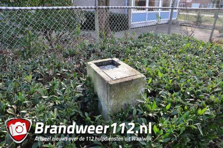Bronzen borstbeeld gestolen aan de Wijnruitstraat Waalwijk