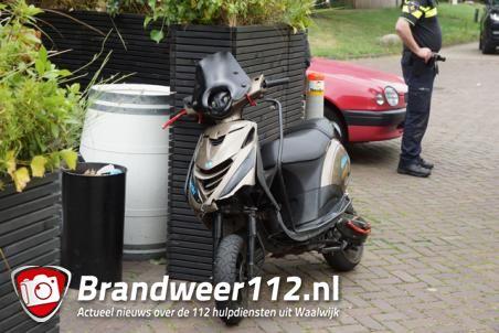 Scooterrijder gewond bij ongeval Waalwijk, dronken automobilist aangehouden