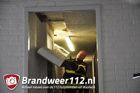 Grote plassen water in Waalwijkse flat leiden agenten naar hennepkwekerij