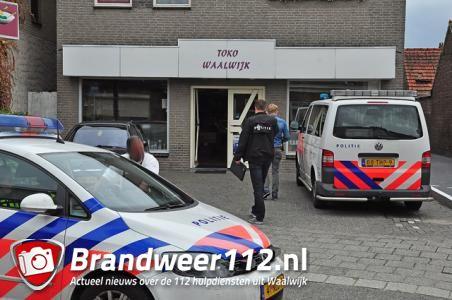 UPDATE: Geld buitgemaakt bij overval Toko aan de Eerste Zeine Waalwijk
