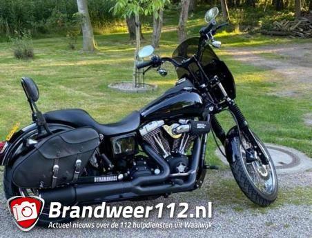 Harley Davidson gestolen aan de Vijverlaan Waalwijk