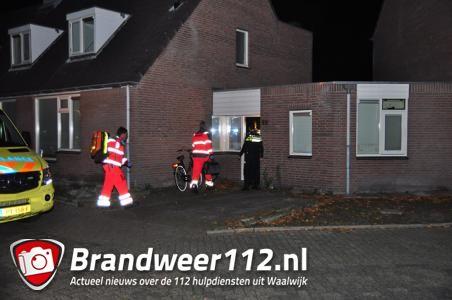 Vrouw wordt gereanimeerd in woning aan de Amstel Waalwijk