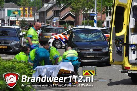 Fietser zwaargewond na ongeluk in Waalwijk: 'De klap was enorm'