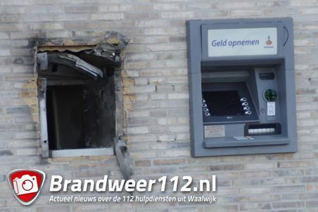 Update: Plofkraak op afstortkluis aan de Taxandriaweg Waalwijk