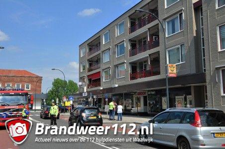 Vrouw valt in slaap met pan op het vuur aan de Wilhelminastraat Waalwijk