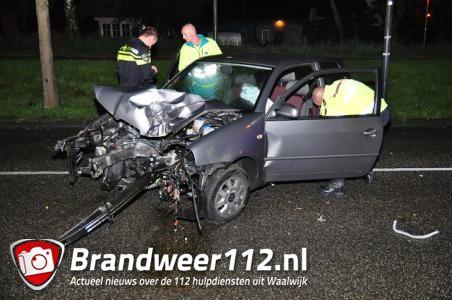 Ernstig ongeval aan de Krayenhofflaan Waalwijk