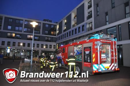 UPDATE: Brandweerman onwel bij brand in parkeerkelder in de Balade in Waalwijk