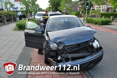 Ongeval op kruising aan de Meester van Coothstraat Waalwijk