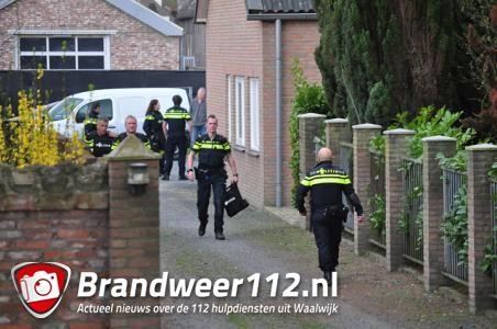 Politie doet inval in pand aan de Winterdijk Waalwijk