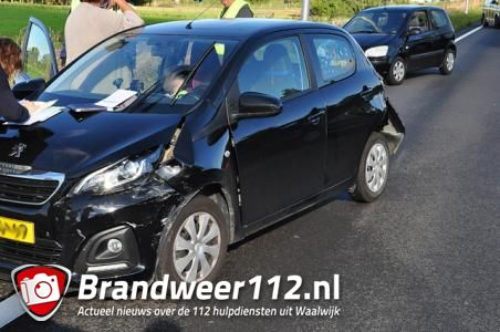 File richting Efteling door ongeluk met drie auto's op N261
