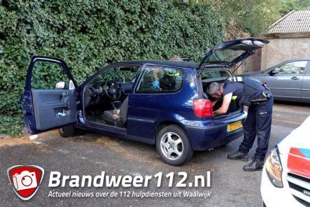 Man mogelijk onder invloed op parkeerterrein van Nettorama Waalwijk