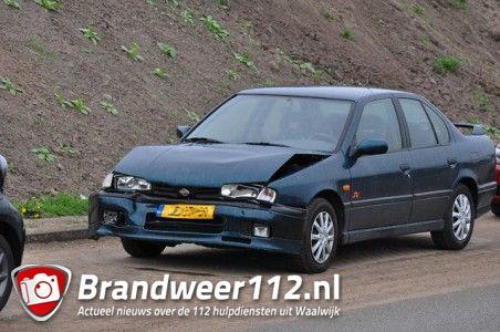 Weer een aanrijding op de Midden-Brabantweg Waalwijk