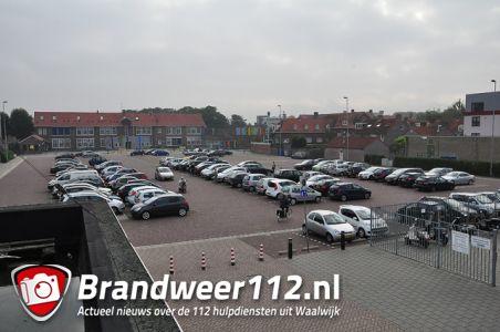 Gratis parkeren na uitrijden slagboom op het Unnaplein Waalwijk