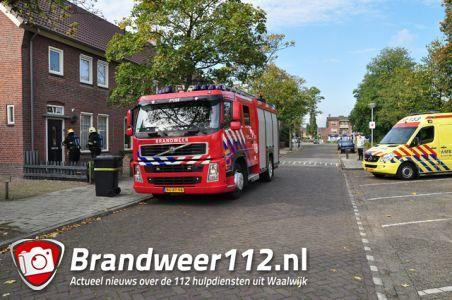 Man wordt onwel in woning door een onbekende lucht aan de Mgr. Prinsenstraat Waalwijk