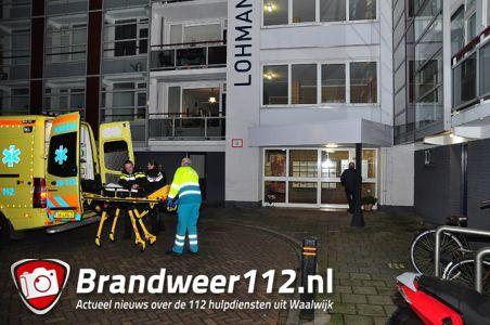 Politie en ambulance rukken uit naar woning aan de Prof. De Savornin Lohmanpark Waalwijk