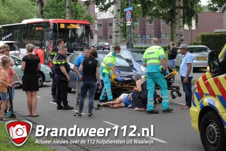 Man op fiets wordt aangereden aan de Blyde Incomstelaan Waalwijk