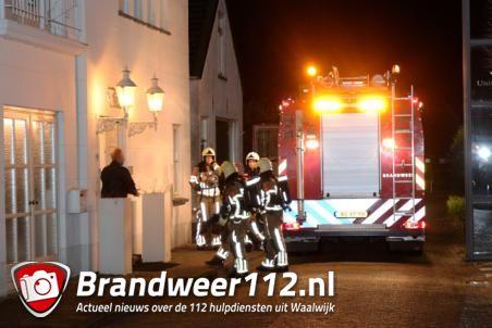 Brand in woning aan de Torenstraat Waalwijk