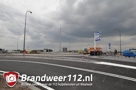 Openstelling rotonde Prof. Kamerlingh Onnesweg/ Noorder Allee Waalwijk