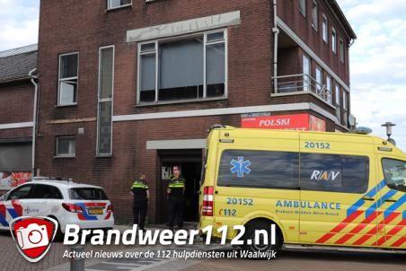 Man raakt gewond bij steekpartij aan de Hugo de Grootstraat Waalwijk