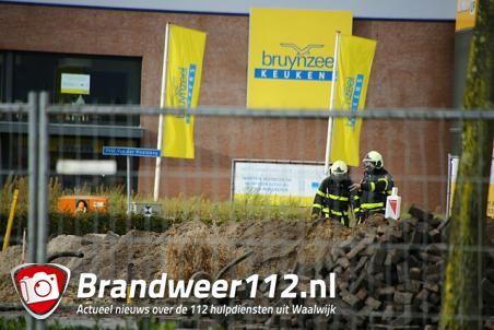 Regenwater veroorzaakt gaslek in Waalwijk
