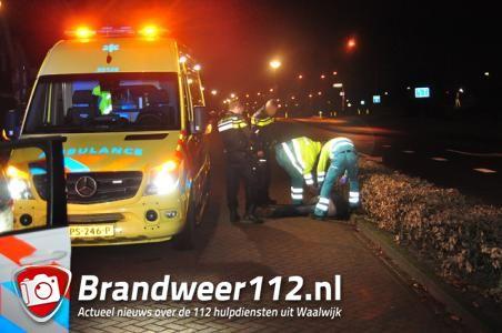 Dronkenlap verzint aanrijding in Waalwijk