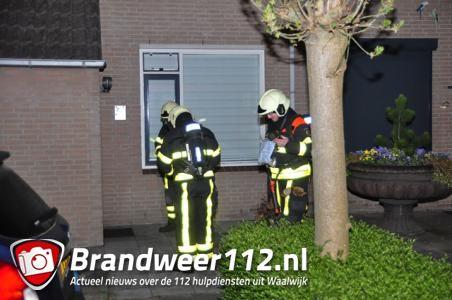 Bewoners onwel in woning in Waalwijk