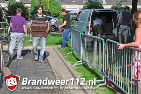 Speelplaats Waalwijk na brutale diefstal rubberen tegels weer open voor kinderen
