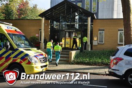 UPDATE: Vrouw sticht brand in GGZ-gebouw aan de Kasteellaan Waalwijk