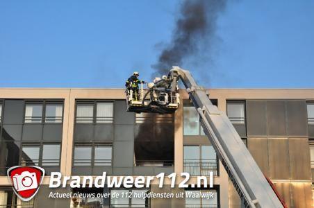 Appartementen verpleeghuis BaLaDe in Waalwijk onbewoonbaar door brand, bewoners opgevangen