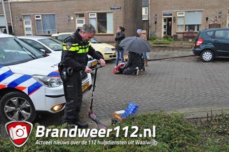 Jongetje op step aangereden door automobilist aan de Sweelinckstraat Waalwijk
