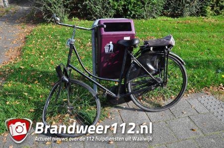 Aanrijding tussen auto en fietser aan de Groen van Prinstererlaan Waalwijk