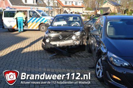 Man gewond bij ongeval aan het Laageinde Waalwijk