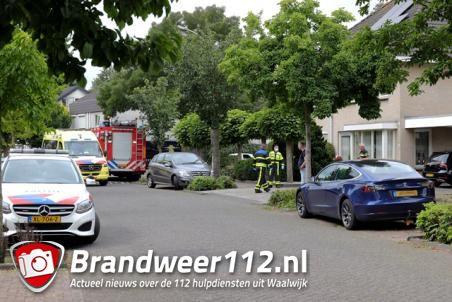 Brandweer rukt uit voor reanimatie aan de A.B. Van Lieshoutlaan Waalwijk