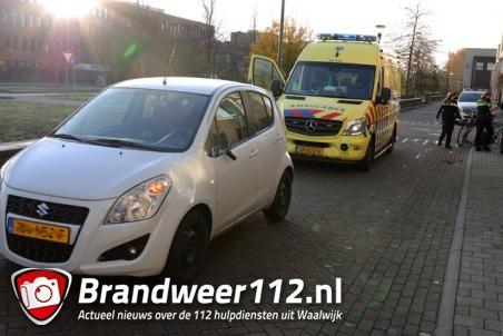 Fietser raakt gewond na aanrijding aan de Villa Spaanse Ruiter Waalwijk
