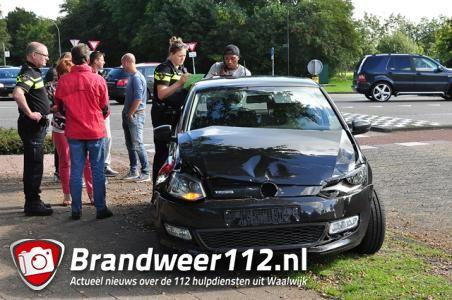 Botsing met RKC-speler Valpoort leidt tot opstopping aan de Akkerlaan Waalwijk