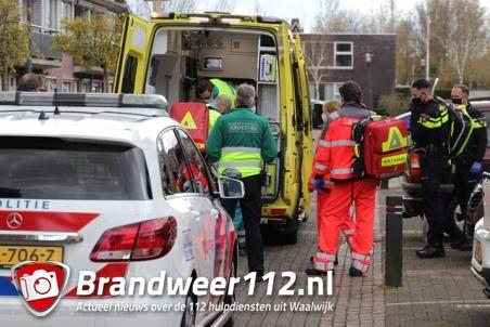 Persoon raakt zwaargewond na val van trap aan de Irenestraat Waalwijk
