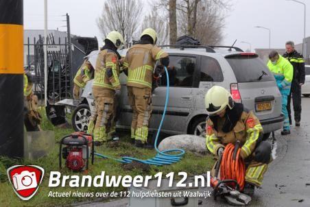 Flink ongeval aan de Havenweg Waalwijk