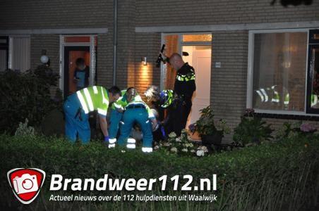 UPDATE: Man ligt gewond in voortuin aan de Beethovenlaan Waalwijk
