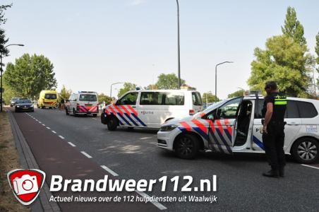 Jongen gewond bij aanrijding door auto in Waalwijk