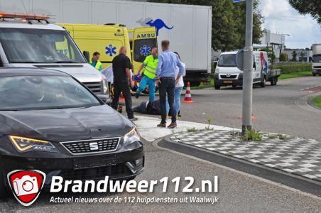 Fietser gewond na aanrijding in Waalwijk