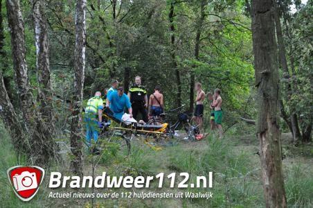 Jongen raakt gewond in de bossen van Het Lido in Waalwijk