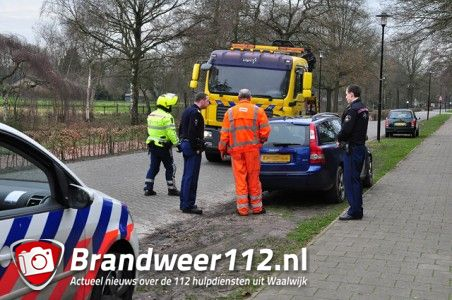 Politie vindt gestolen auto terug aan de Meerdijk Waalwijk