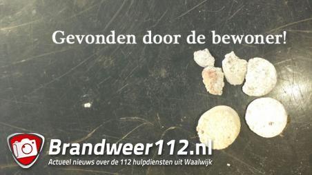 Verkoper aan deur in Kaatsheuvel: later vindt bewoner vermoedelijk gif brokken